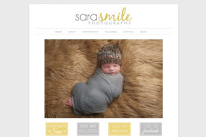Website for Sara Smile Photography