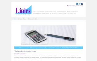 Website for Linles Accountants