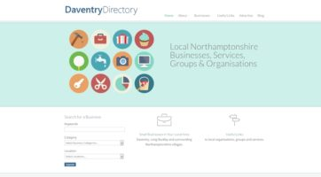 Website for the Daventry Directory