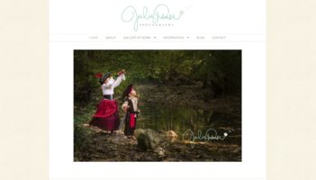 Website for Julie Pease Photography